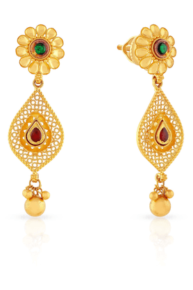 MALABAR GOLD AND DIAMONDS Womens Malabar Gold Earrings - 201594283