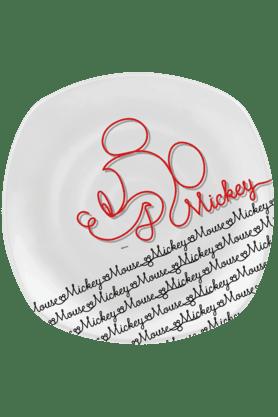 Mickey Line Art - Dinner Plate