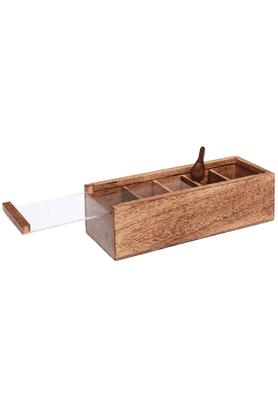 Tea Box With Spoon