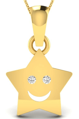 SPARKLESHis & Her Collection 92 Kt His & Her Diamond Pendants In 925 Sterling Silver And Real Diamond - 0.01 Cts HHP10459-92KT