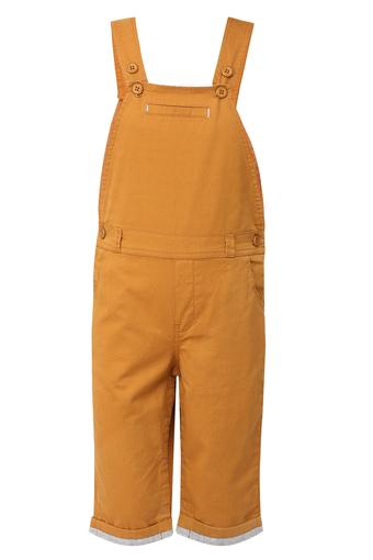 Boys 5 Pocket Solid Dungarees