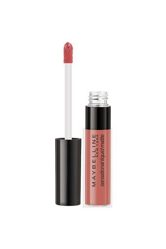 MAYBELLINE -  Bday Suit On  ( Nude ) Lips - Main