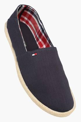 Mens Canvas Slip On Loafers - 202188411