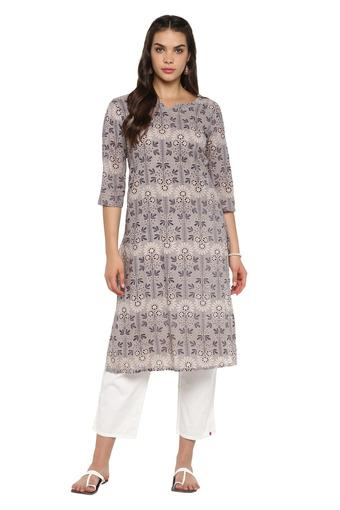 STOP -  Grey Kurtas - Main