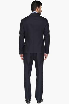 Mens Skinny Fit Notched Lapel Suit