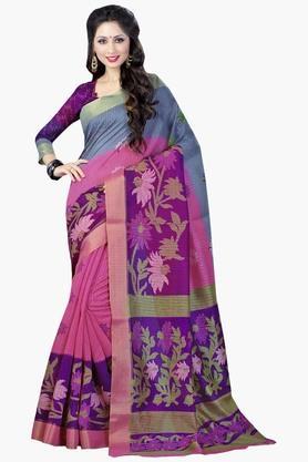 DEMARCAWomens Silk Designer Saree - 202338159