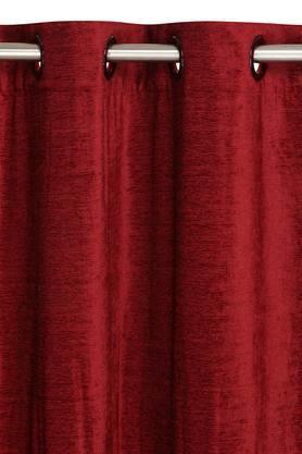 ARIANA - MaroonDoor Curtains - 1