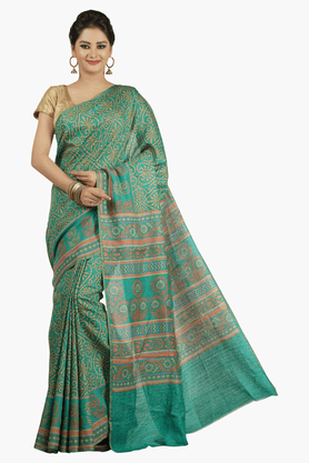 JASHN Womens Printed Saree - 201502597