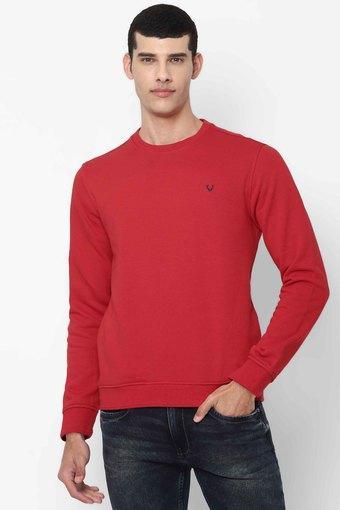 ALLEN SOLLY -  RedSweatshirts - Main