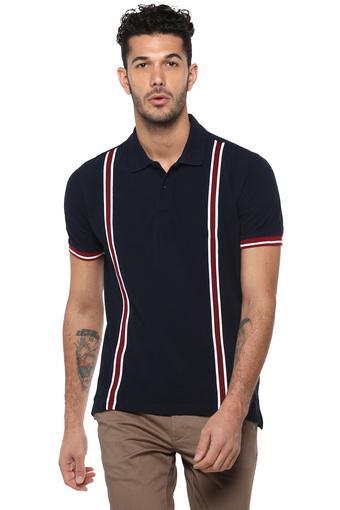 VETTORIO FRATINI -  NavyT-Shirts & Polos - Main