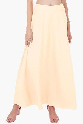 INDYA Womens Solid Long Skirt - 202498082_9101