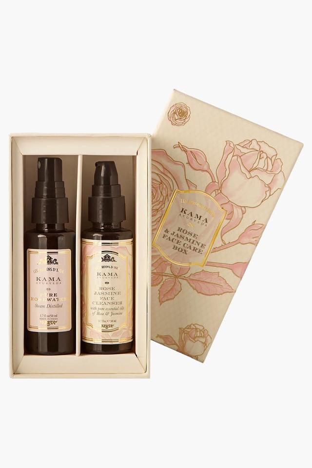 Rose & Jasmine Face Care Gift Box - 220 GM