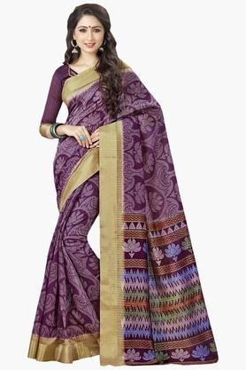 DEMARCAWomens Silk Designer Saree - 202338175