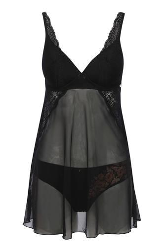 ENAMOR -  Charcoal WOMEN NIGHTWEAR - Main