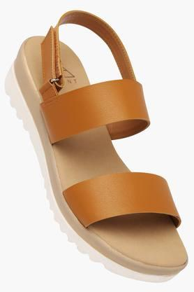 FEMINA FLAUNT Womens Daily Wear Velcro Closure Wedge Sandal