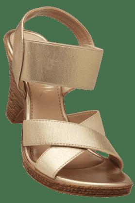 CATWALKWomens Ethnic Slipon Heel Sandal