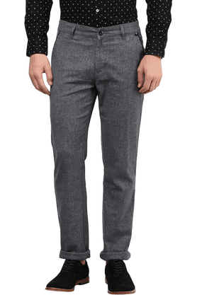 THE VANCA Mens Formal Trousers Regular Fit Trouser - 200813488