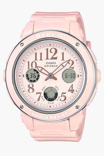 Womens BGA-150EF-4BDR (B163) Baby-G Analog-Digital Watch