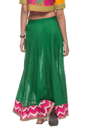 Womens Full Length Skirt