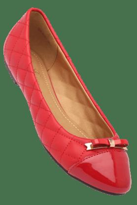 ELLIZA DONATEINWomens TextuSlipon Ballerina Shoe