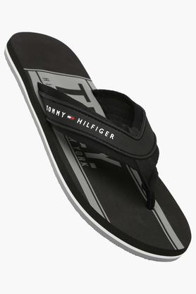 TOMMY HILFIGER Mens Casual Slipon Slippers - 202188389