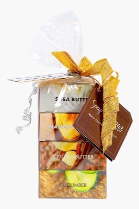 SOAP OPERASoaps Combo Pack - Mango Butter, Shea Butter, Cocoa Butter, Cucumber