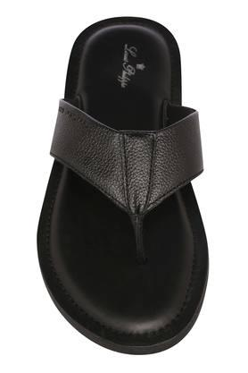 LOUIS PHILIPPE - Black Sandals & Floaters - 2