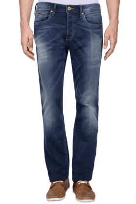 JACK AND JONES Mens 5 Pocket Stretch Jeans - 200763548