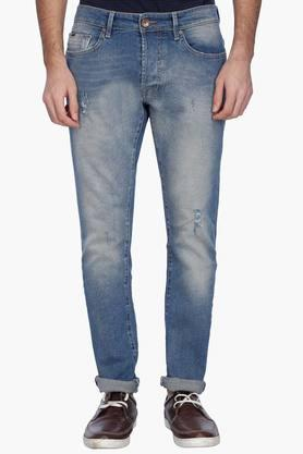 GAS Mens Relaxed Fit Distressed Jeans (Norton Fit)