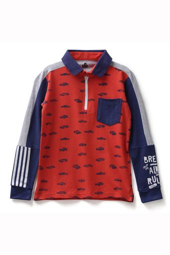 UNDER FOURTEEN ONLY -  Red Topwear - Main