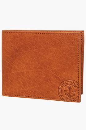 TOMMY HILFIGERMens Cloud Leather 1 Fold Wallet