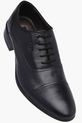 VENTURINI Mens Leather Lace Up Smart Formal Shoes