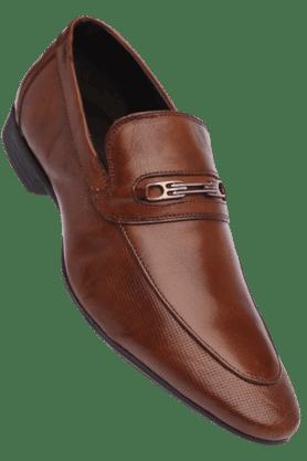 Alberto Torresi Formal Shirts (Men's) - Mens Leather Slipon Smart Formal Shoe