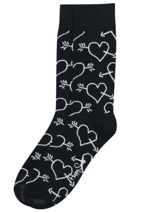 Mens Cotton Stretch Printed Socks