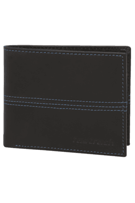 FASTRACKMens Genuine Leather 1 Fold Wallet