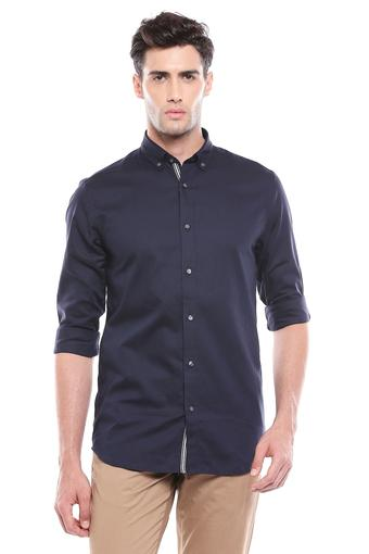JACK AND JONES -  Navy Casual Shirts - Main