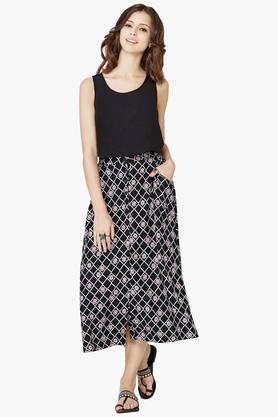 Counter Genuine Diesel Textured Knit Dress Dresses Shop Womens Dresses COLOUR-black