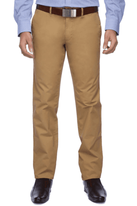 LOUIS PHILIPPE SPORTS Mens Flat Front Slim Fit Solid Chinos - 9936515