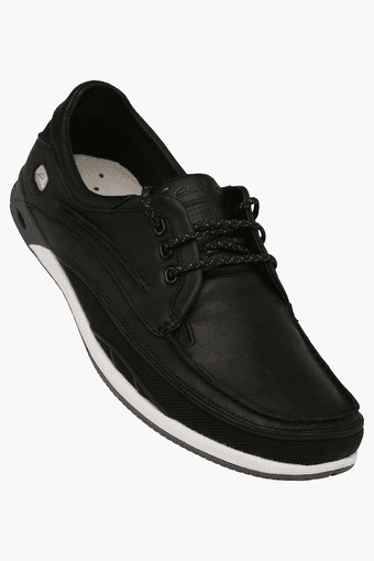 Mens Orson Leather Lace Up Casual Shoe