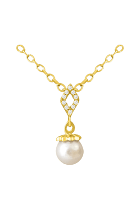 SPARKLESHis & Her Collection 18 Kt Pendant In Gold & Real Diamond HHPXP8822