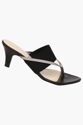 Womens Casual Wear Slip On Heel Sandals