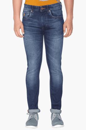 U.S. POLO ASSN. DENIMMens 5 Pocket Stretch Jeans (Regallo Fit)