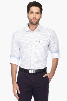 Z3 Formal Shirts (Men's) - Mens Regular Collar Printed Shirt