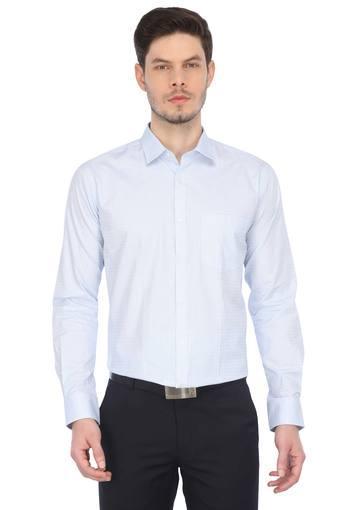 PARK AVENUE -  Light BlueFormal Shirts - Main