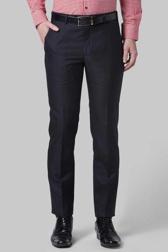 PARK AVENUE -  BlueFormal Trousers - Main
