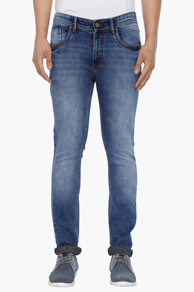 LIFE Mens Washed Jeans - 201394679