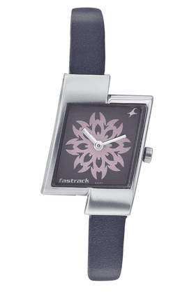 FASTRACK Ladies Watch With Purple Leather Strap - NE2161SL11