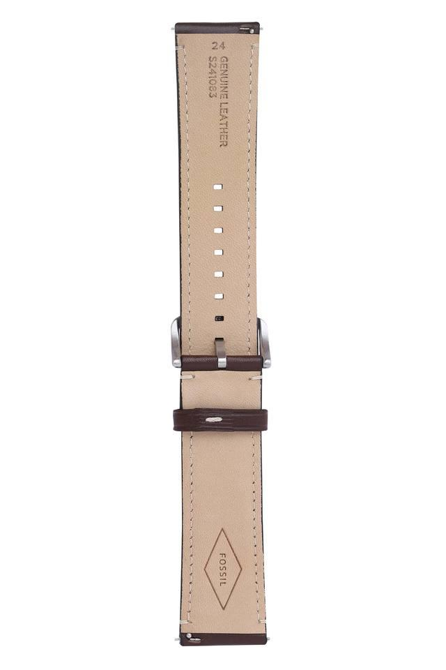 Unisex Dial Leather Watch Strap - S241083