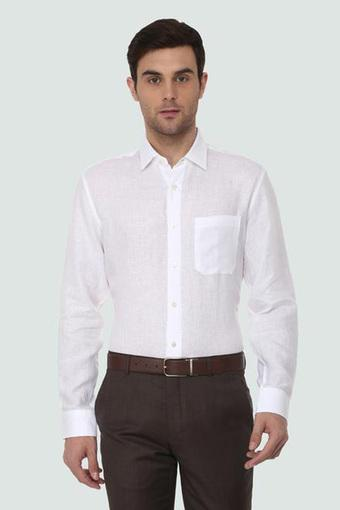LOUIS PHILIPPE -  Off WhiteFormal Shirts - Main