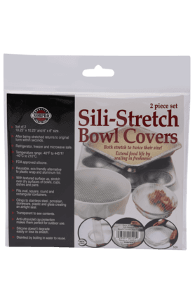 NORPRO Silicone Stretch Bowl Covers (Set Of 2)